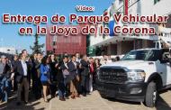 Evento en vivo: Entrega de Parque Vehicular en la Joya de la Corona