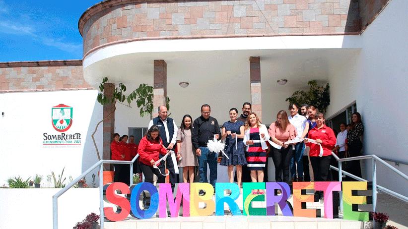 Inauguran nuevas instalaciones del DIF de Sombrerete