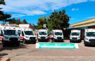 Se ha mejorado en 20 municipios la atención  pre hospitalaria y hospitalaria con 26 nuevas ambulancias