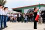 Abandera Gobernador Tello primera generación del bachillerato general policial