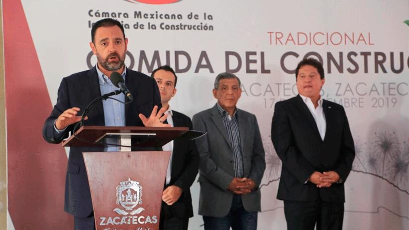 Unidos, Tello y constructores solicitarán a legisladores atraer más obra pública para Zacatecas