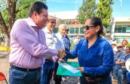 Cumple Gobernador Tello con el Programa de Sequía