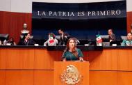 La política interior debe enfocarse en la protección de los derechos humanos: Geovanna Bañuelos