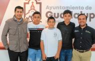 Reafirma Julio César Chávez su compromiso  con el deporte local