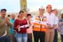 Lleva Ulises Mejía Haro ampliación de red eléctrica a familias de la colonia España