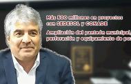 Más 500 millones en proyectos con SEDESOL y CONADE y ampliación del Panteón municipal, perforación y equipamiento de pozos