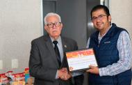 SEDESOL  entrega apoyos al Banco de Alimentos Zacatecas AC