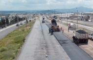 Avanza la modernización de la Avenida Plateros en Fresnillo