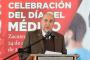 Secretaría de Salud de Zacatecas reconoce a Médicos en su día