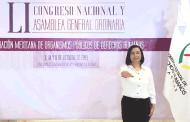 Nombran a Ma. De la Luz Domínguez como representante de los Ombudsperson del país ante la OACNUDH