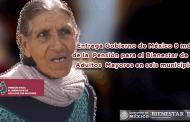 Video: Entrega Gobierno de México 8 mdp de la Pensión para el Bienestar de los Adultos Mayores en seis municipios