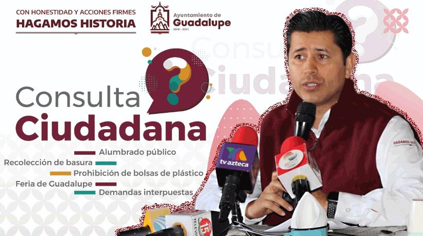 Rueda de prensa :Consulta Ciudadana