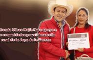 Video: Refrenda Ulises Mejía Haro apoyo a las comunidades por el desarrollo rural de la Joya de la Corona
