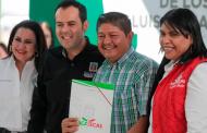 Brindan certeza jurídica a 280 dueños de predios en la capital zacatecana