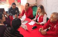 Atiende Secretaría de la Función Pública a habitantes de Pinos