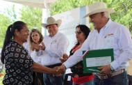 Inicia Sader y Gobierno de Zacatecas la entrega de indemnizaciones por seguros ganaderos y agrícolas a productores afectados por sequía