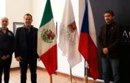 Promueve Ulises Mejía Haro inytercambio cultural con República Checa