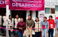 Inauguración del Centro Integrador del programa Bienestar en Villa González Ortega