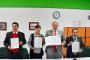 Signan convenios de colaboración  Ayuntamiento de Guadalupe, Conalep y Cecati