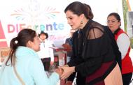 Lleva Feria DIFerente beneficios para cientos de familias de Enrique Estrada