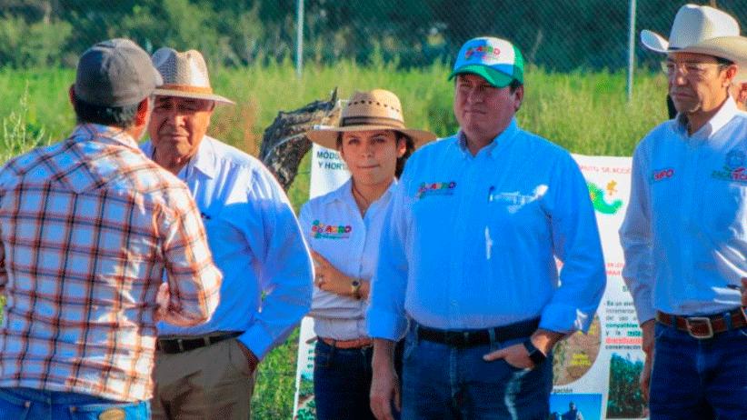 Instala Gobierno Estatal módulos para maximizar aprovechamiento de suelo y agua en la producción de forrajes y hortalizas