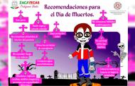 Emite PC recomendaciones de limpieza y seguridad en panteones, por día de muertos