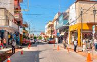 Inician rehabilitación de las calles del centro de Tlaltenango.