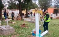 Encabeza Ulises Mejía Haro jornada voluntaria de Limpieza para dignificar panteones de La Joya de la Corona