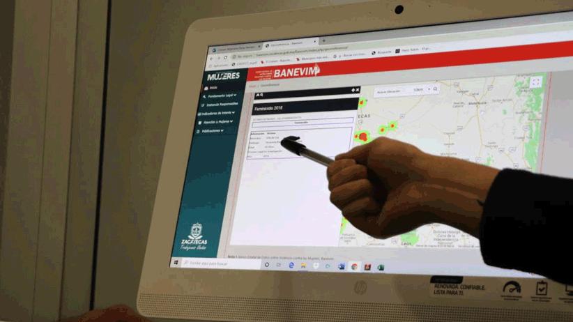 Zacatecas referente nacional en el manejo de información estadística de violencia de género