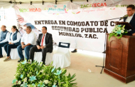 Recibe Gobierno del Estado en comodato Casa de Seguridad Pública de Morelos
