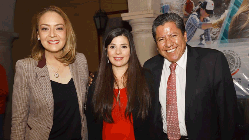 Reconocen David Monreal y Verónica Díaz labor legislativa de Gabriela Pinedo, representante de la nueva clase política del estado