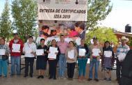 Cumple Zacatecas la meta de acreditación y certificación en educación para adultos
