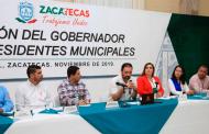 Gobernador Alejandro Tello entrega a municipios 300 mdp como adelanto de participaciones