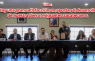 Video: Hay una gran satisfacción en aportar al desarrollo de nuestra tierra: migrantes zacatecanos
