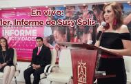 En vivo: Primer informe de actividades de Susy Solís, Presidenta Honorífica del SMDIF de Guadalupe