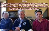 """Video: """"Fondo Minero perdió su legitimidad y razón de ser por la corrupción y el Presidente decidió fortalecer la infraestructura educativa"""": Narro"""