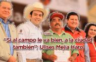 """Video: """"Si al campo le va bien, a la ciudad también"""": Ulises Mejía Haro"""