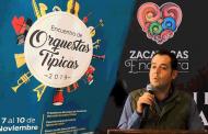 Video: Anuncia Ulises Mejía Haro próximo Encuentro de Orquestas Típicas