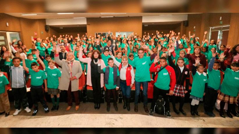 Participan 130 niñas, niños y adolescentes en VIII Foro de Participación Infantil organizado por SEDIF