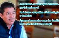 ¿Solicitará Mazapil adelanto de participaciones? y las próximas campañas oftalmológicas y dentales