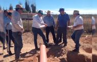 Con 4 obras hídricas en Villa de Cos, se beneficiará a más de 2 mil habitantes