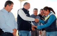 Valida SSZ campo agrícola que protege la salud de jornaleros y sus familias