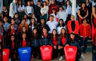Ofrecen clase máster de defensa personal  a alumnos del plantel 1 del Cobaez