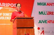 Presidenta honorífica del SEDIF convoca a ser parte de la solución en el fenómeno de la violencia