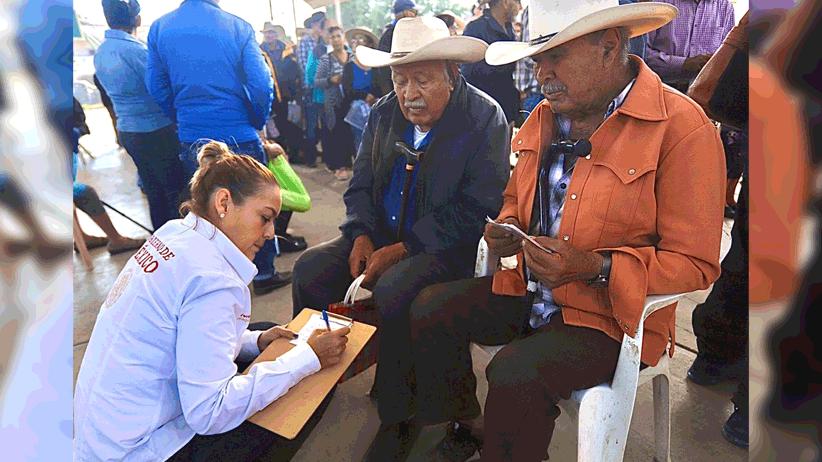 Entrega Gobierno de México 10 mdp de la Pensión para el Bienestar a 4 mil adultos mayores de siete municipios
