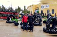 Se benefician habitantes de Pánfilo Natera con apoyos para la siembra de avena, equipo y un bordo