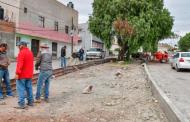 Realizan trabajos de mejoramiento urbano  para prevenir actos delictivos