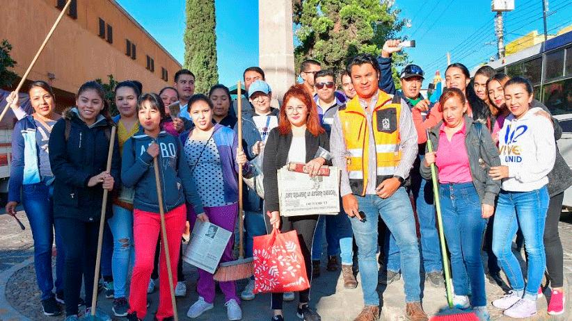 Promueve Ayuntamiento de Guadalupe,  la responsabilidad Social