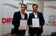 Firman convenio IZEA y SEDIF para impulsar el Programa Ver Bien para Aprender Mejor