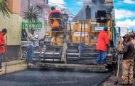 Continúa programa de pavimentación de 107 calles implementado por el Gobernador Tello